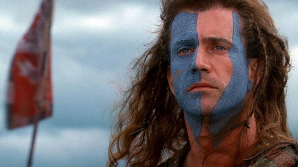 William Wallace in 'Braveheart'