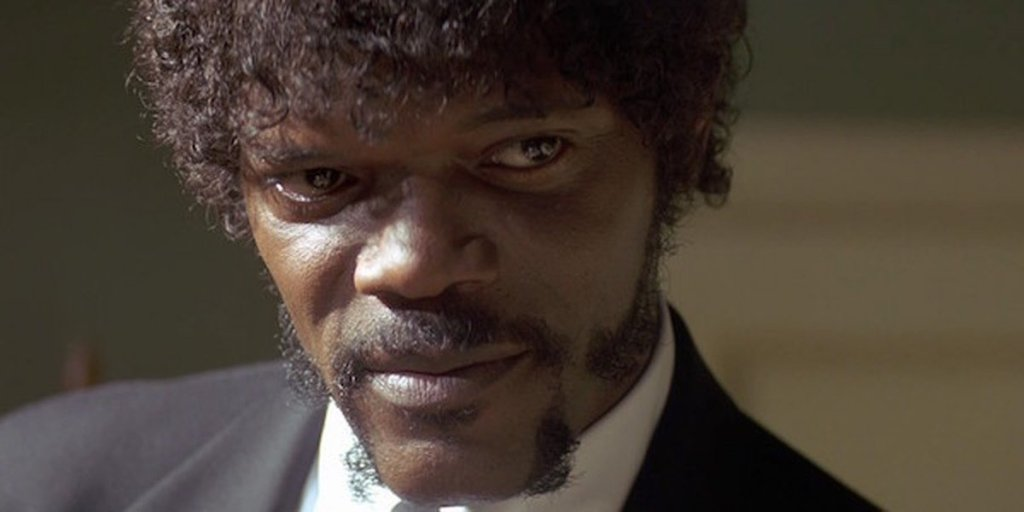 Samuel L. Jackson in 'Pulp Fiction'