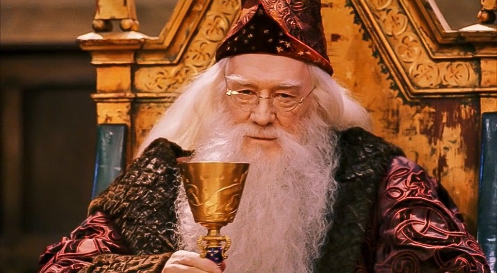 Dumbledore in 'Harry Potter and the Philosopher's Stone'