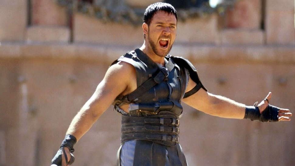 Russel Crowe in 'Gladiator'