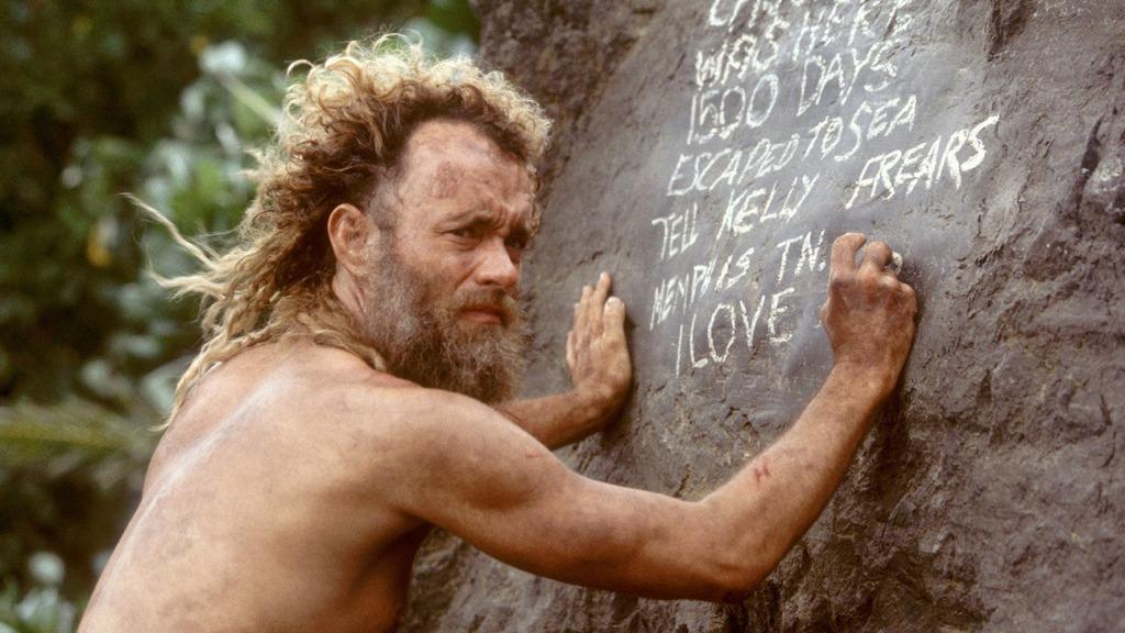 Chuck Noland in 'Cast Away'