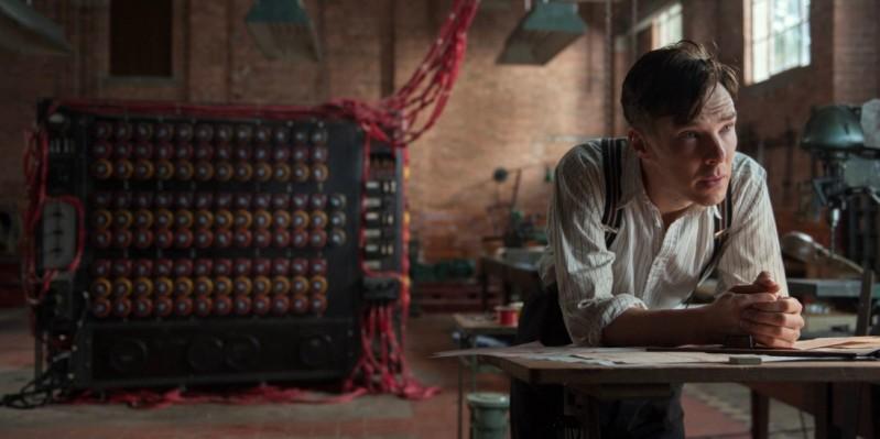 Alan Turing in 'The Imitation Game'