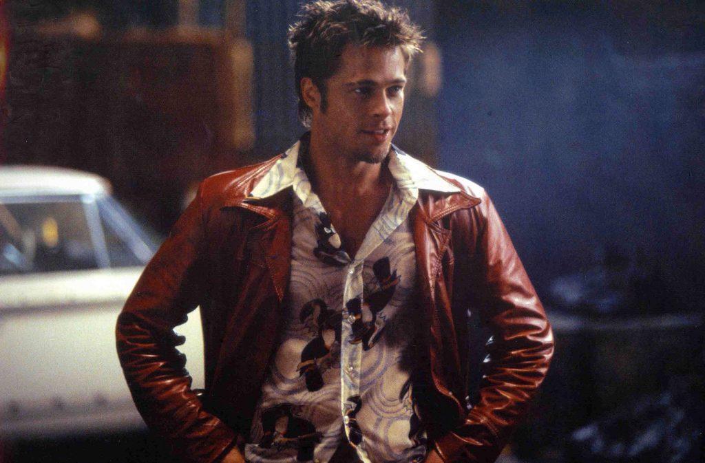 Brad Pitt as Tyler Durden in 'Fight Club'