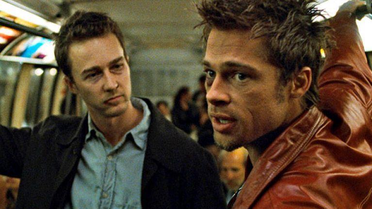Tyler Durden in 'Fight Club'