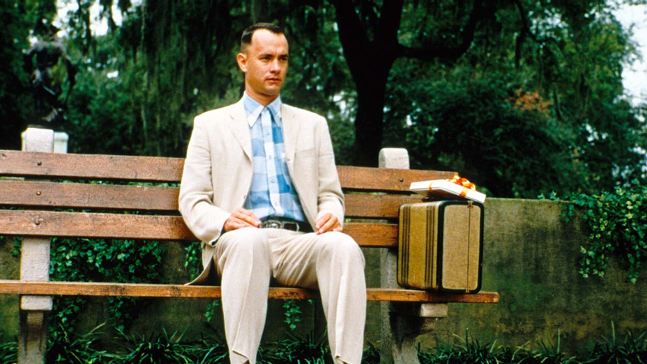 A scene from 'Forest Gump'