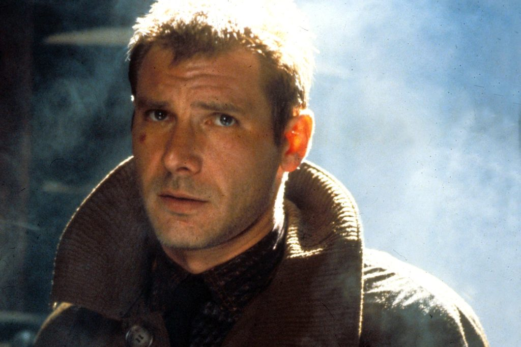 Harrison Ford in 'Blade Runner'