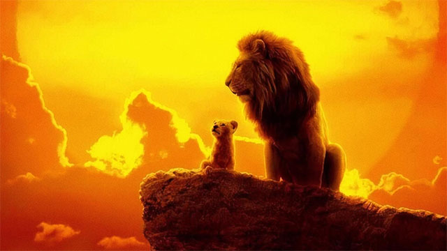 Scene from 'The Lion King'