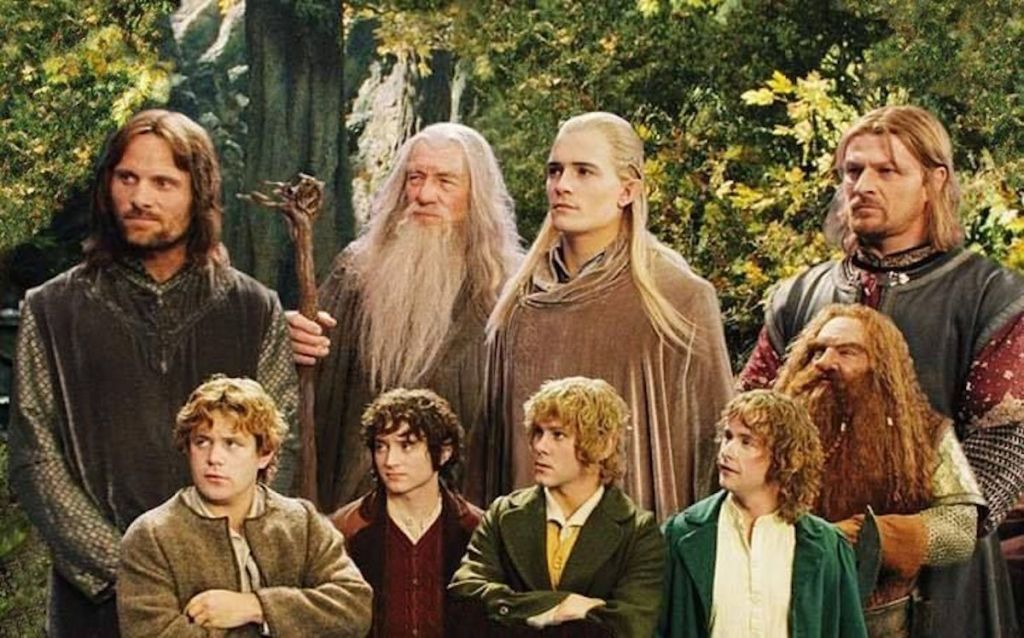 The cast/characters of 'The Lord of the Rings'