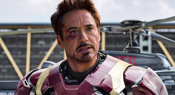 Robert Downey Jr. as 'Iron Man'
